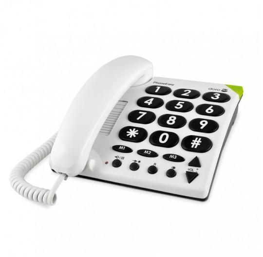Téléphone fixe Doro PhoneEasy 311c