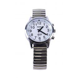 montre parlante touch bracelet métal extens