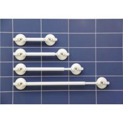 barre d'appui à ventouses réglable