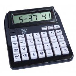 Calculatrice grands chiffres et parlante