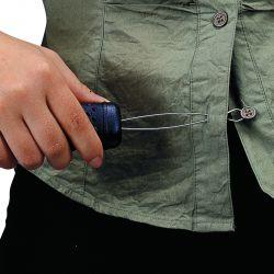 Enfile bouton avec poignée texturée