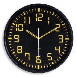 Horloge silencieuse contraste Diam.30 cm