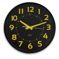 Horloge contraste silencieuse Ø 40 cm