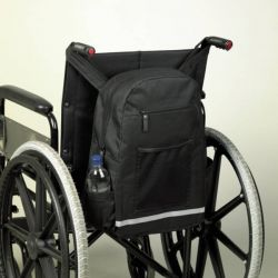 Sac pour fauteuil roulant multipoches Homecraft