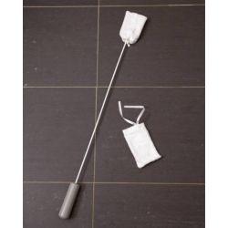 Eponge lave orteils avec manche Homecraft