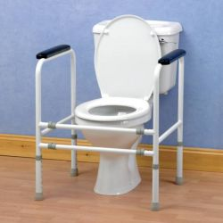 Cadre de toilettes ajustable Homecraft