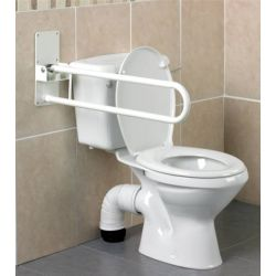 Barre d'appui WC relevable Devon Homecraft