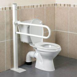 Barre d'appui WC Devon Homecraft fixation au sol