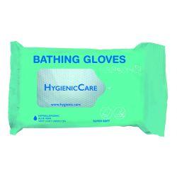 Gants humides pour la toilette quotidienne sans rinçage DR HELEWA ®