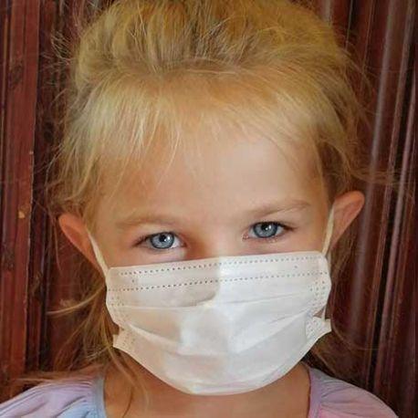 Masque chirurgical type II Enfant - Sachet de 7