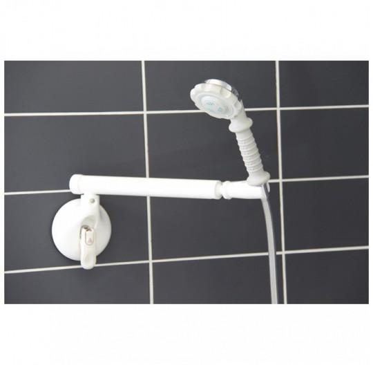 support pour douche avec bras rotatif